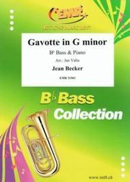 Gavotte in G minor