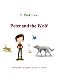 Prokofiev - Peter and the Wolf - piano solo