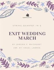 Exit Wedding March by Johann Friedrich Reichardt