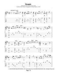 Nuages (DADGAD Fingerstyle Guitar)