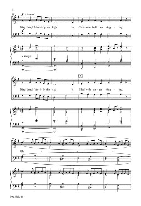 Ding Dong! The Christmas Bells Are Ringing By Lloyd Larson - Digital Sheet Music For Octavo ...