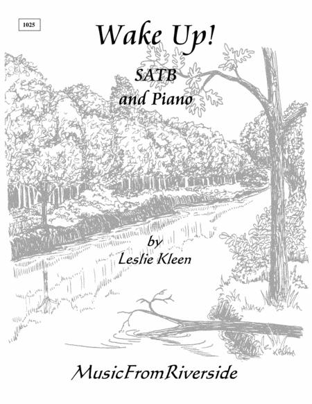 Wake Up! for SATB and piano