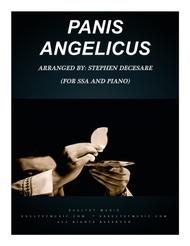Panis Angelicus (for SSA - Piano Accompaniment)