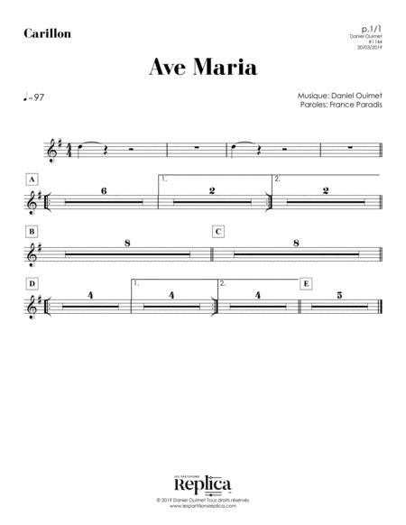 AVE MARIA - CARILLON part