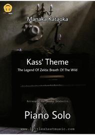 The Legend Of Zelda - Kass Theme (Piano Solo)