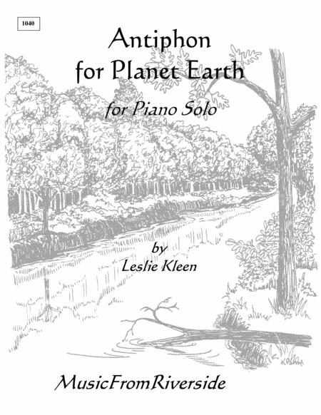 Antiphon for Planet Earth for piano solo