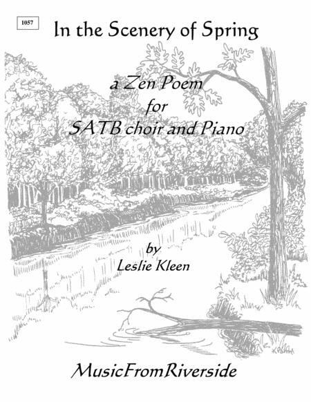 In the Scenery of Spring for SATB and piano