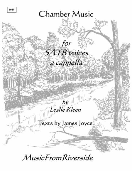 Chamber Music for SATB voices a cappella