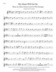 Love Theme from Titanic (Original key) Flute