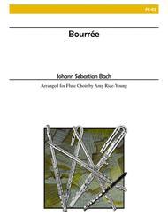 Bourree for Flute Choir