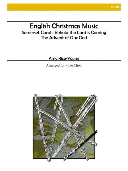 English Christmas Music for Flute Choir