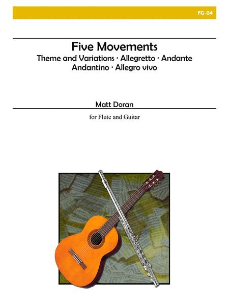 Five Movements for Flute and Guitar