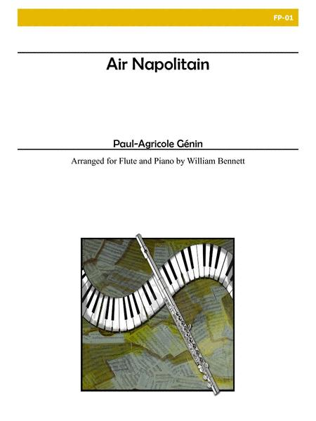 Air Napolitain for Flute and Piano