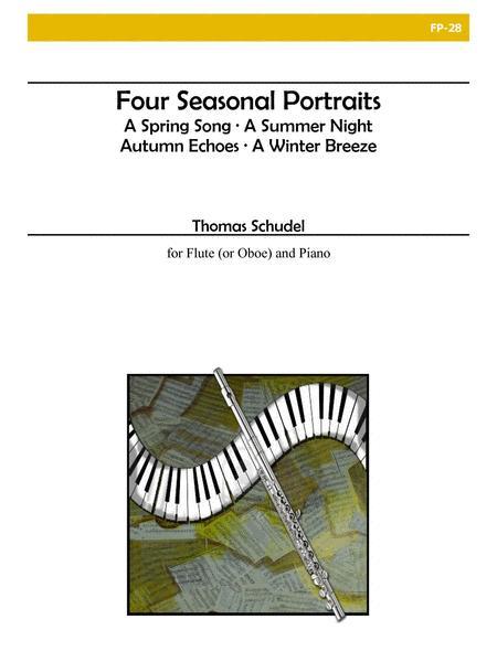 Four Seasonal Portraits for Flute and Piano