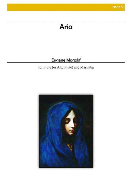 Aria for Flute/Alto Flute and Marimba