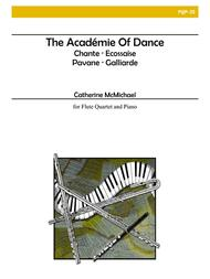 The Academie of Dance for Flute Quartet and Piano