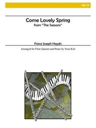 Come Lovely Spring for Flute Quartet and Piano