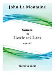 Sonata for Piccolo and Piano, Op. 61