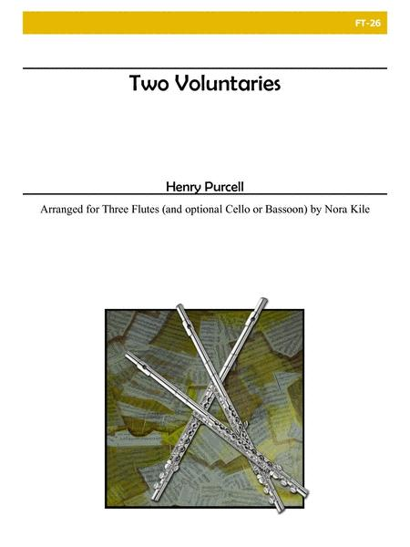 Two Voluntaries for Flute Trio