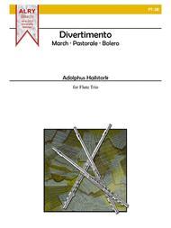 Divertimento for Flute Trio