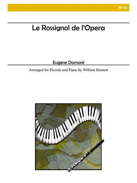 Le Rossignol De L'Opera for Piccolo and Piano