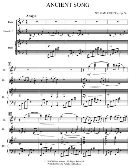 Ancient Song - Trio For Flute, Horn and Harp