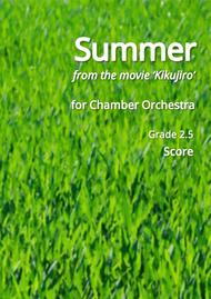 Hisaishi Joe: Summer (for chamber orchestra) Score