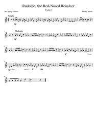 Rudolph, the Red-Nosed Reindeer (Violin 1)