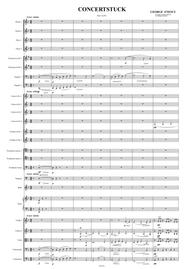 Concerststuck- Konzertstück (concert piece) for Viola and orchestra score and parts (George Enescu)