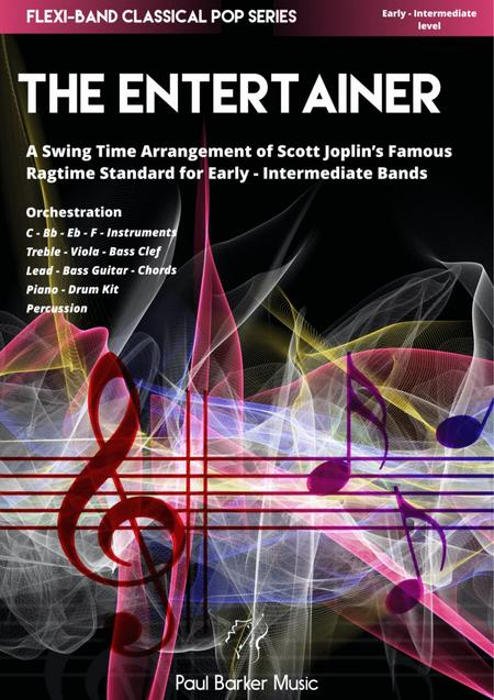 The Entertainer (Flexi-Band Score & Parts)