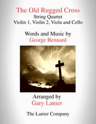 The Old Rugged Cross (String Quartet - Violin 1, Violin 2, Viola and Cello with Parts)