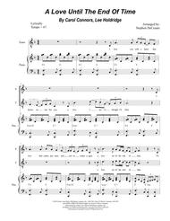 A Love Until The End Of Time (Duet for Soprano and Tenor Solo)