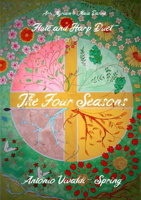 Vivaldi - Spring (The Four Seasons) for Flute and Harp Duet