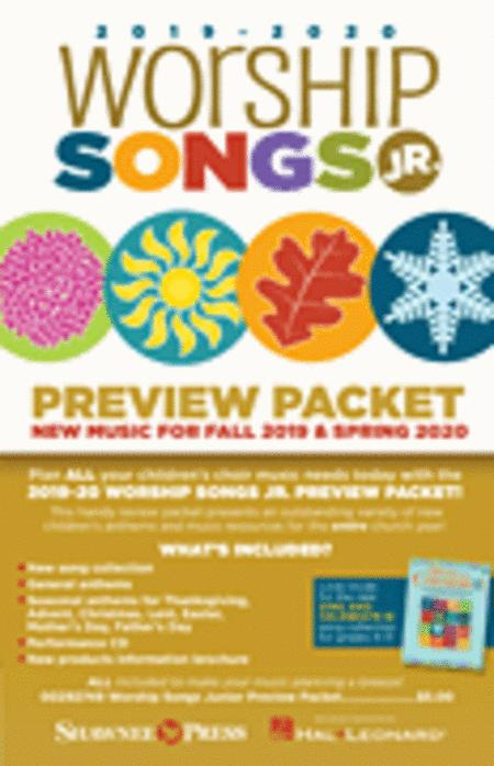 2019-2020 Worship Songs Junior Preview Packet
