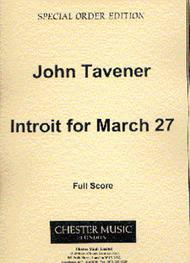 Introit For March 27