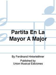 Partita En La Mayor A Major