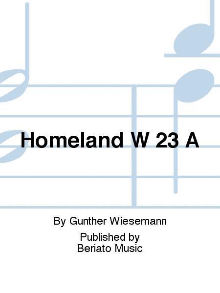 Homeland W 23 A