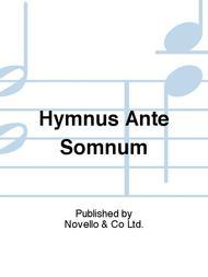Hymnus Ante Somnum