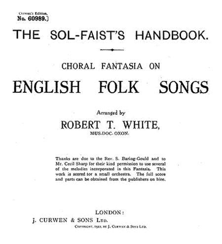 White English Folk Songs
