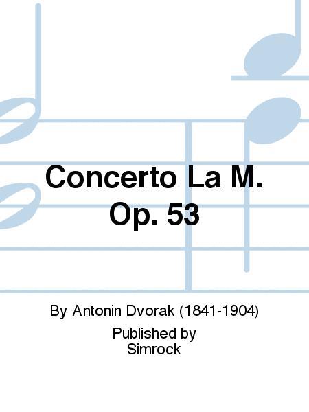 Violin Concerto In A Minor Op.53