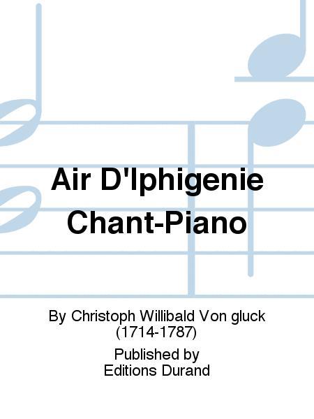 Air D'Iphigenie Chant-Piano