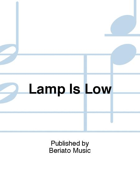 Lamp Is Low