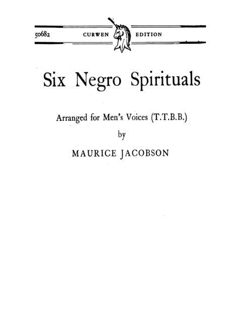 6 Negro Spirituals