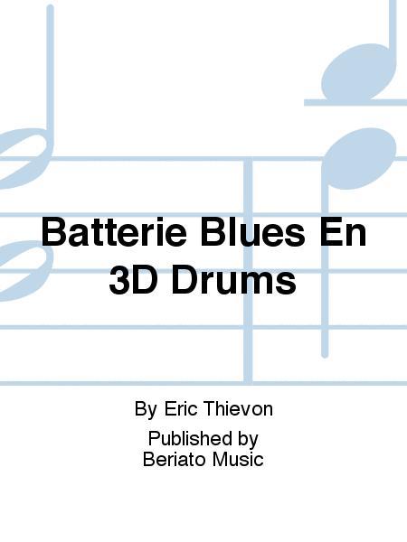 Batterie Blues En 3D Drums