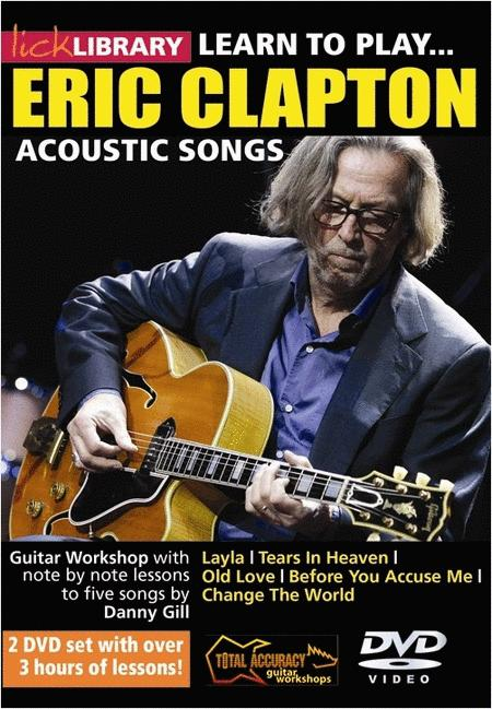 Learn To Play Eric Clapton Acoustic Tracks