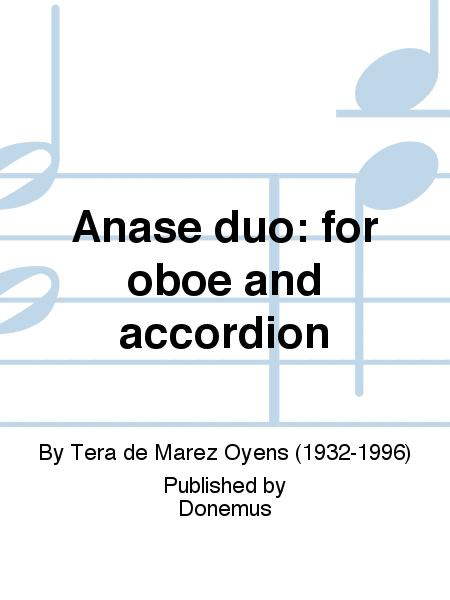 Anase duo: for oboe and accordion