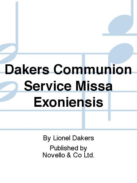Communion Service Missa Exoniensis