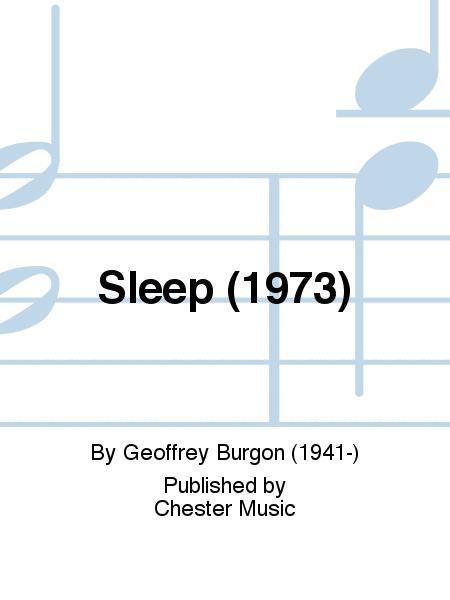 Sleep (1973)