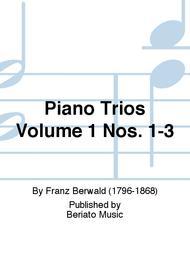 Piano Trios Volume 1 Nos. 1-3