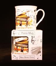 Fine China Mug - Piano Design